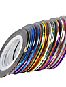 30 Foil Stripping Tape Abstract Fashion High Quality Daily