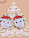 lureme®christmas эмали совы серьги