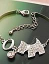 Full Diamond Puppy Bracelet