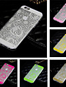 Capinha Para iPhone 6 iPhone 6 Plus Transparente Estampada Capa Traseira Lace Impressão Macia Silicone para iPhone 6s Plus iPhone 6 Plus