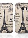 буквы и случаи Париж башня Pattern Кожа PU полное тело с подставкой для Samsung Galaxy Ace стиль облегченный G310