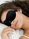 Masque de Sommeil de Voyage 3D Portable Pare-Soleils Ajustable Confortable Repos de Voyage Sans couture Respirabilite 1set pour Voyage