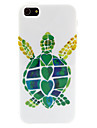 Turtle Pattern TPU Soft Case for iPhone 5/5S