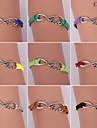 Eruner®Fashion Alloy Love Infinite Charms Handmade Bracelets(Assorted Colors)