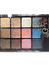 12 Palette de Fard a Paupieres Sec Fard a paupieres palette Poudre Normal Maquillage Smoky-Eye / Maquillage Quotidien / Maquillage de Fete