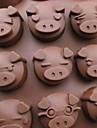 베이킹 몰드 DIY 금형 동물 파이 쿠키 케이크 실리콘 환경친화적인 고품질 3D