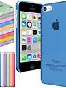 iPhone 5C - Кейс на заднюю панель - Особый дизайн ( Красный/Черный/Белый/Зеленый/Синий/Желтый/Фиолетовый/Фуксия/Оранжевый , Пластик )