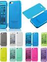 Design spécial - Etuis du corps entier - pour iPhone 5C (Noir/Blanc/Vert/Bleu/Jaune/Pourpre/Rose , TPU)