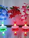 Lampes de nuit V) - Batterie - Couleurs changeantes - 3 - (W) - (Etanche)