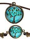 Mulheres Pele Conjunto de joias Colares / Bracelete - Azul Para Festa / Diario / Casual