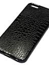 couro de crocodilo caso escudo protetor para iphone 6 (cores sortidas)