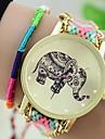 Женские Модные часы Часы-браслет Кварцевый Материал Группа Богемные Разноцветный