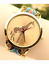 Women's Quartz Wrist Watch Alloy Band Charm / Fashion Blue / Gold
