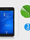 Protetor de Tela para Sony Sony Xperia E4G PET 3 Pças. Ultra Fino