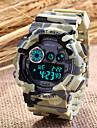 Mode unisex Kautschukband Camouflage-Digital-Sport Militäruhren (verschiedene Farben)