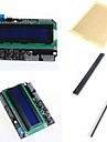 1602 blindage du clavier LCD et d\'accessoires pour Arduino