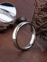 Персонализированные ювелирные изделия Кольца - Нержавеющая сталь - серебро -