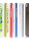 Ultra Thin Frosted Cover Case for iPhone 5C (Assorted Colors)