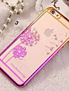 Diamond Bling Transparent Back Cover Case for iPhone 5/5S iPhone Cases