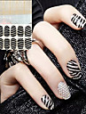 2 3D Nail Stickers Abstract Fashion Wedding Daily High Quality