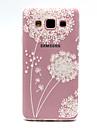 Pour Samsung Galaxy Coque Transparente Motif Coque Coque Arrière Coque Pissenlit PUT pour Samsung A3