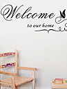 Words & Quotes Wall Stickers Plane Wall Stickers Decorative Wall Stickers,Vinyl Home Decoration Wall Decal For Wall