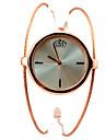 Femme Montre Tendance Montre Bracelet Bracelet de Montre Quartz Alliage Bande Bracelet Elegantes Dore Dore Or Rose