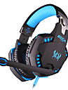 KOTION EACH Over Ear Headband Wired Headphones Plastic Gaming Earphone with Volume Control with Microphone Noise-isolating Luminous