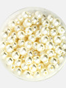 Beadia 64g(Approx 300Pcs)  ABS Pearl Beads 8mm Round Ivory Color Plastic Loose Beads DIY Accessories