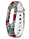 For xiaomi1/1s TPU Band Digital Camouflage Watch Strap - RED WITH BLACK