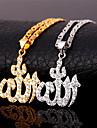 Женский Ожерелья с подвесками Цирконий Циркон Цирконий Позолота Любовь Pоскошные ювелирные изделия бижутерия Бижутерия Назначение