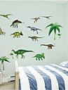 3d stickers muraux murales dinosaure de PVC Stickers muraux de style autocollants