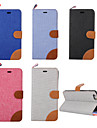 Case For iPhone 5 Apple iPhone 5 Case Card Holder with Stand Flip Pattern Full Body Cases Solid Color Hard PU Leather for iPhone SE/5s