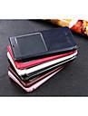 Pour Samsung Galaxy Note Etuis coque Avec Support Avec Ouverture Clapet Coque Integrale Coque Couleur Pleine Cuir PU pour Samsung Note 4