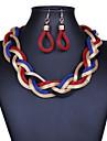 Women\'s Jewelry Vintage Statement Jewelry Drop Earrings Statement Necklace Alloy Drop Earrings Statement Necklace , Party Special