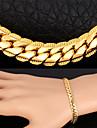 Femme Set de Bijoux Mode bijoux de fantaisie Collier Bracelet Pour Soiree Occasion speciale Anniversaire Cadeaux de mariage