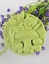 champignon esprit du savon en forme de moule mooncake moule en silicone moule a cake de fondant au chocolat, des outils de decoration