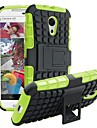Case For Motorola Motorola Case Shockproof with Stand Back Cover Armor Hard PC for