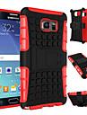 Para Samsung Galaxy Note Antichoque / Com Suporte Capinha Capa Traseira Capinha Armadura PC Samsung Note 5 / Note 4
