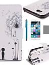 용 아이폰6케이스 / 아이폰6플러스 케이스 지갑 / 카드 홀더 / 스탠드 / 플립 / 패턴 케이스 풀 바디 케이스 민들레 하드 인조 가죽 iPhone 6s Plus/6 Plus / iPhone 6s/6