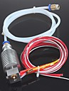 Long-distance 3D Printer J-head Hotend for 1.75mm E3D Bowden Extruder 0.4mm Nozzle with PTFE Tube Ramps 1.4