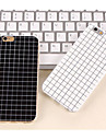 Capinha Para Apple iPhone 8 iPhone 8 Plus iPhone 6 iPhone 6 Plus iPhone 7 Plus iPhone 7 Estampada Capa traseira Estampa Geometrica Macia