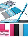 Pour Etuis coque Avec Support Avec Clavier Clapet Rotation 360° Coque Integrale Coque Couleur unie Dur Cuir PU pour iPad Air 2