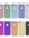 Luxury Colorful Glitter Bling Skin Wrap Sticker Screen Protector for iPhone 5/5S(Assorted Colors)