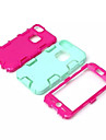 High Quality Snap-on PC + Silicone Hybrid Combo Armor Case Cover for iPhone 5C(Assorted Color)