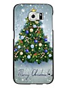 For Samsung Galaxy Case Pattern Case Back Cover Case Christmas PC Samsung S6