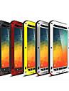 Pour Samsung Galaxy Note Antichoc Coque Coque Integrale Coque Armure Metal pour Samsung Note 5
