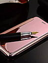 For iPhone 6 Plus Case Plating / Mirror / Flip Case Full Body Case Solid Color Hard Metal iPhone 6s Plus/6 Plus / iPhone 6s/6