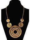 Žene Izjava Ogrlice Duga ogrlica Statement dame Europska Moda Zlato zaslon u boji Ogrlice Jewelry Za