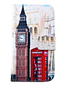 For Samsung Galaxy Case Wallet / Card Holder / with Stand / Flip Case Full Body Case City View PU Leather SamsungS5 Mini / S5 / S4 Mini /